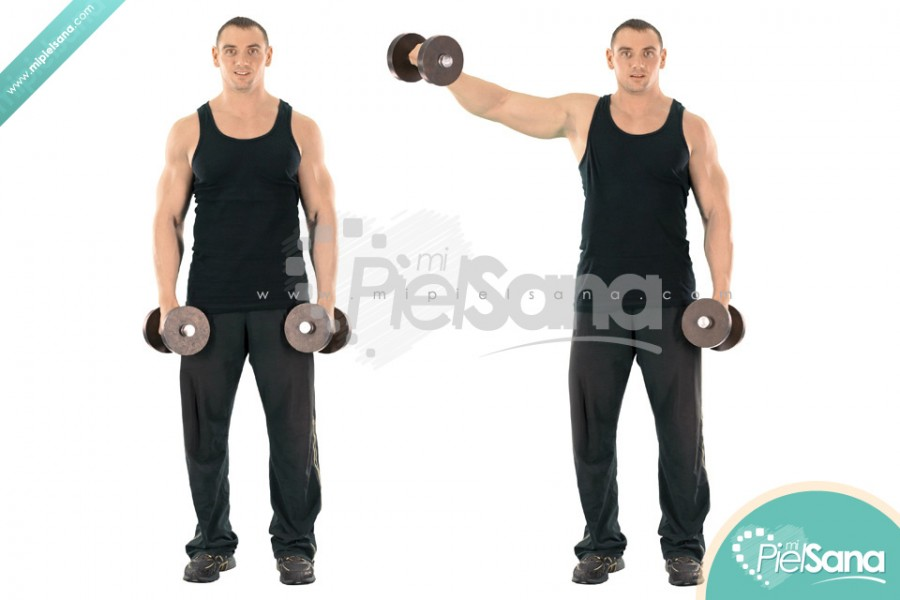 Alternate Dumbbell Lateral Raise