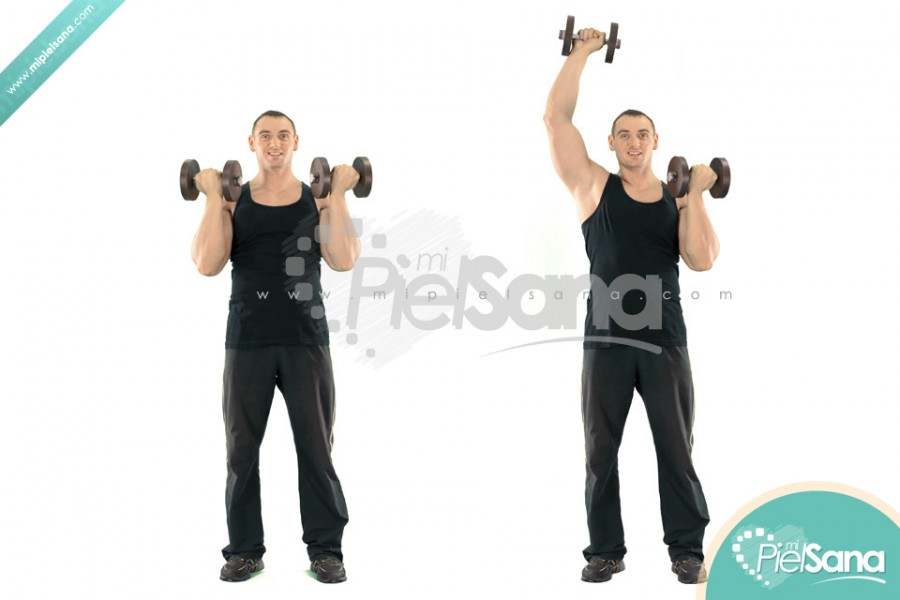 Alternate Standing Arnold Press