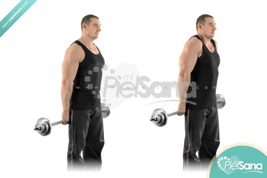 Behind The Back Barbell Shrug