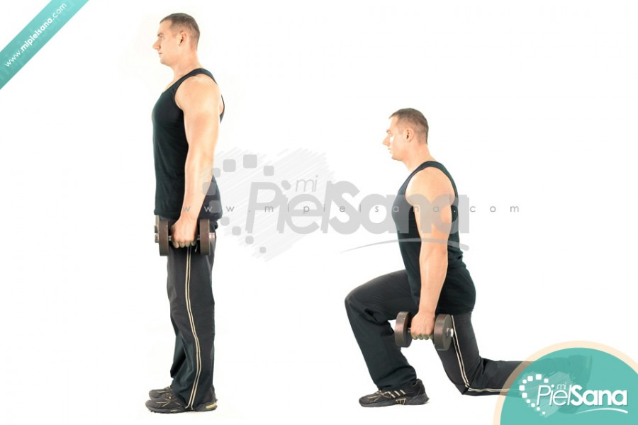Dumbbell Rear Lunge