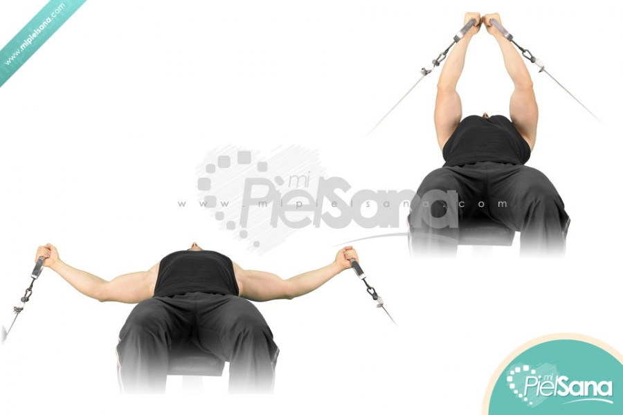 Flat Bench Cable Flys