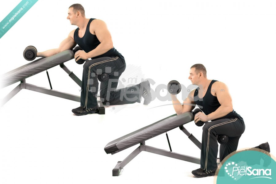 Incline Bench Dumbbell Curl