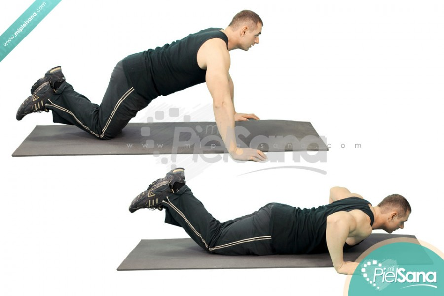 Knee Pushups
