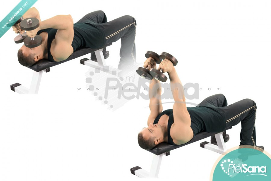 Lying Dumbbell Extension