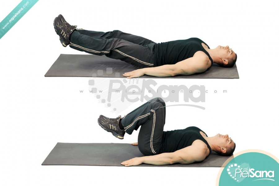 Lying Floor Knee Raise