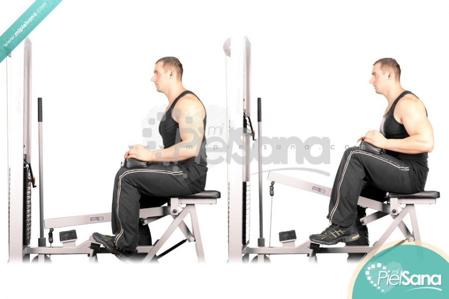 One Leg Seated Calf Raise