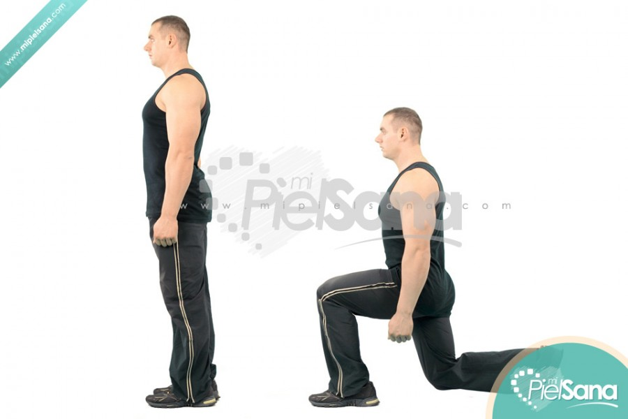 Rear Bodyweight Lunge
