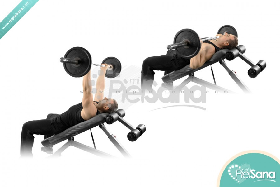 Reverse Grip Incline Bench Press