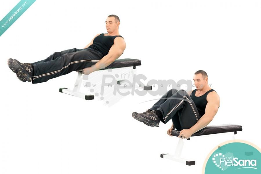 Seated Leg Tucks