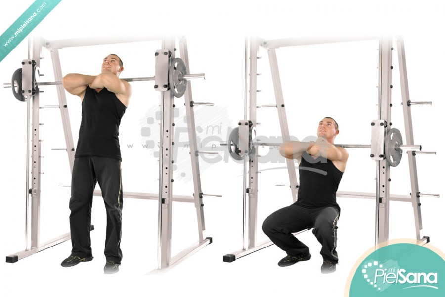 Smith Machine Front Squat