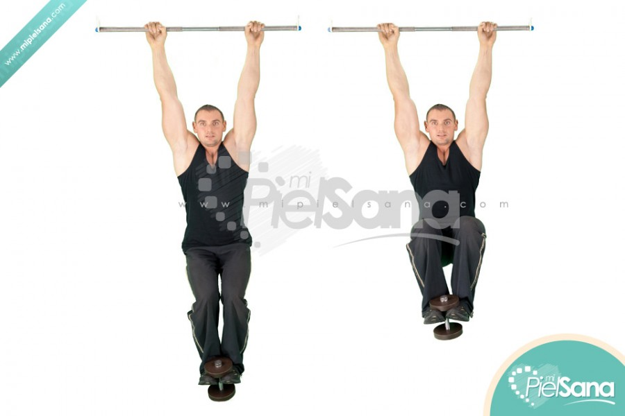 Weighted Hanging Knee Raise