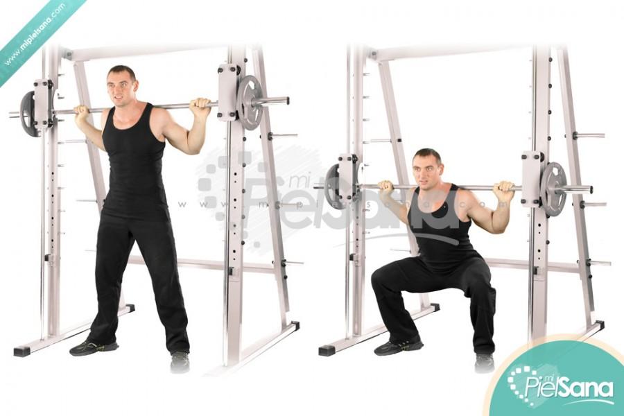 Wide Smith Machine Squat