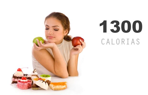 1300 calorías