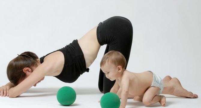 ejercicios despues embarazo