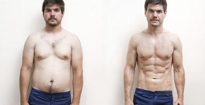 grasa a musculo