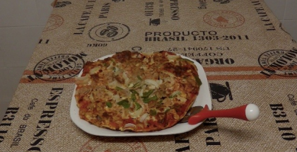 pizza baja en calorias
