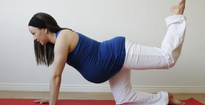 riesgos del ejercicio durante el embarazo