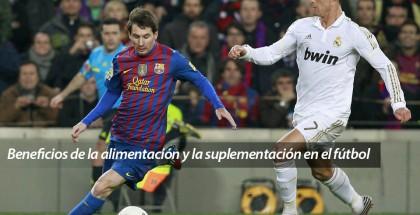 Beneficios de la alimentación y la suplementación en el futbol