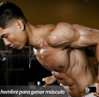 Dieta para hombre de 80kg para ganar músculo