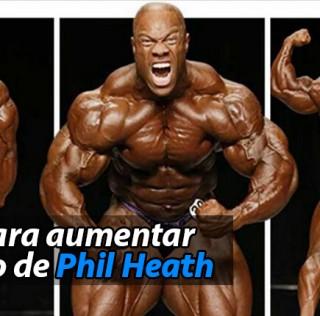 La dieta para aumentar musculo de Phil Heath
