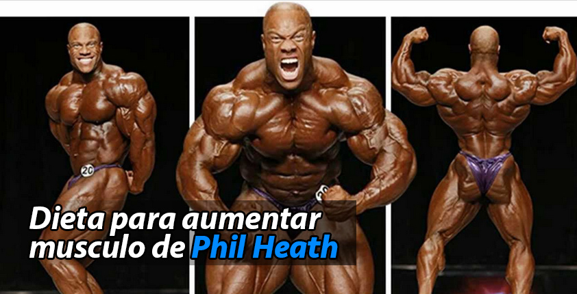 dieta aumentar musculo phil heath