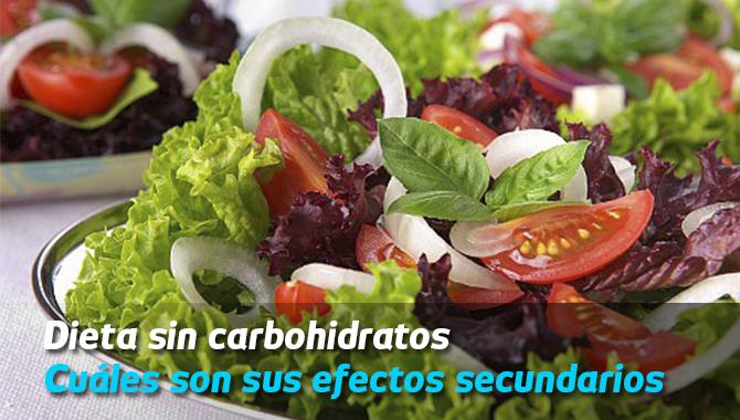 dieta sin carbos