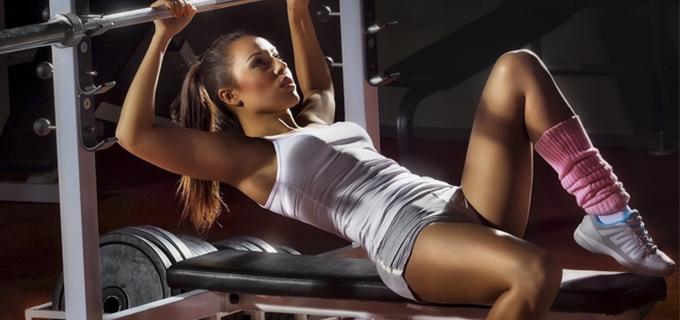 entrenar con pesas chicas