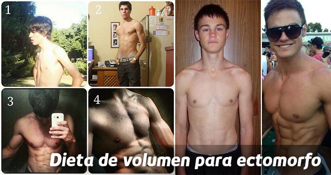 Dieta de volumen para ectomorfo
