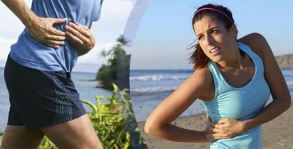 flato dolor al correr