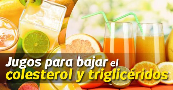 Recetas de jugos para bajar el colesterol y los triglic ridos - Trigliceridos alimentos ...