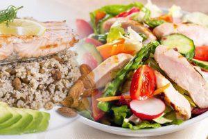 desayuno fitness proteina