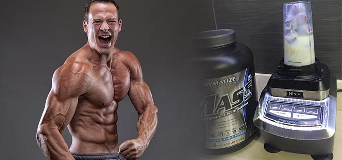 licuado aumentar musculo