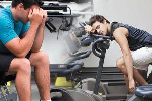mareos en el gym
