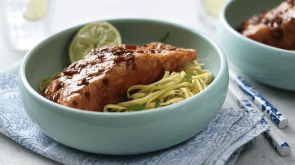 salmon-con-teriyaki
