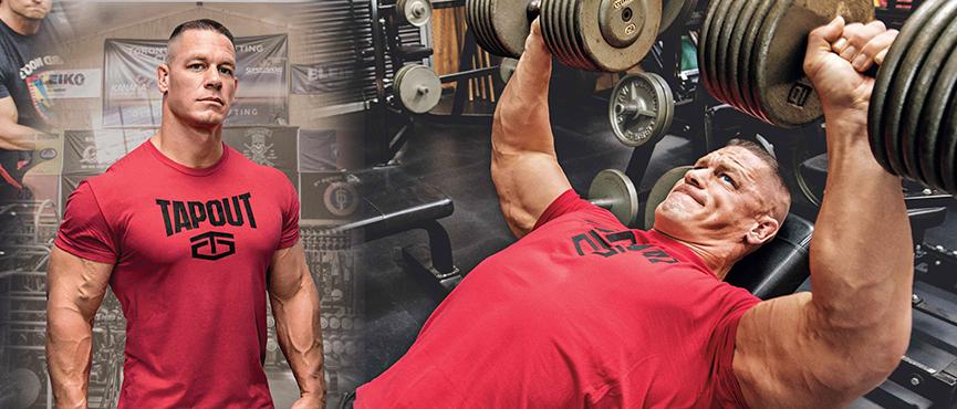 Rutina para crear volumen muscular de john cena - John cena gym image ...