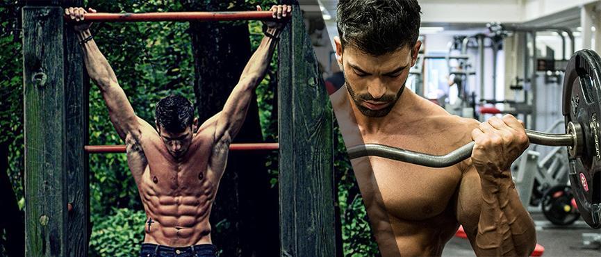 gym vs calistenia