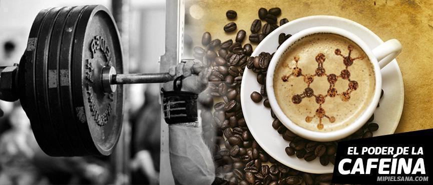 cafeina y gimnasio