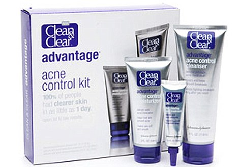 Clean and Clear spot kit from Johnson and Johnson.Source: Internet