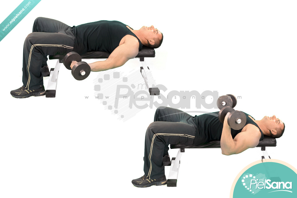 Lying Dumbbell Curl