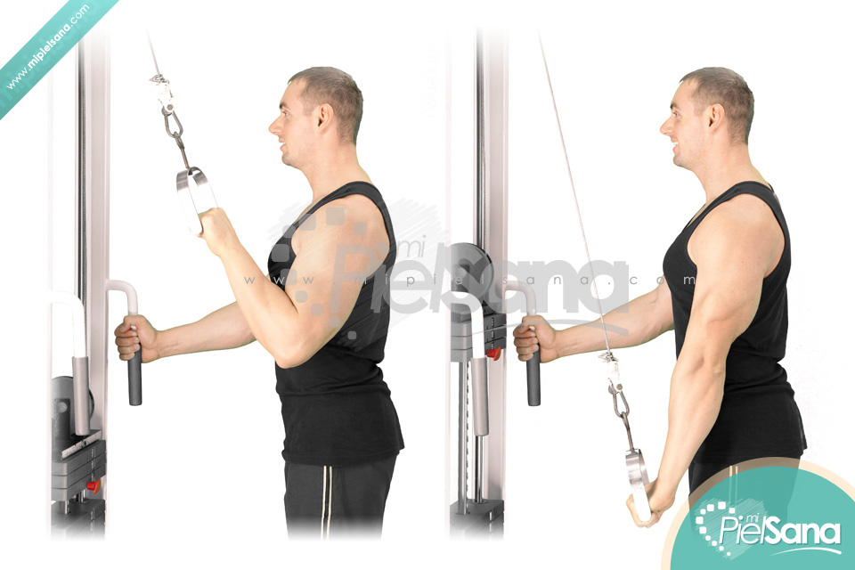 One Arm Cable Tricep Extension