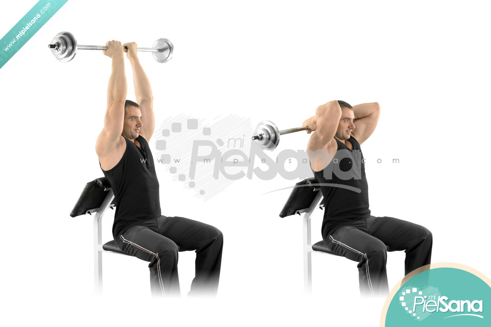 Reverse Grip Seated French Press
