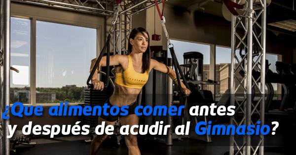 que comer gym