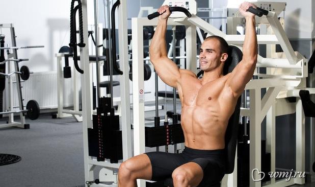 Rutina de hombros aumenta m sculo y gana fuerza - Rutinas gimnasio en casa ...
