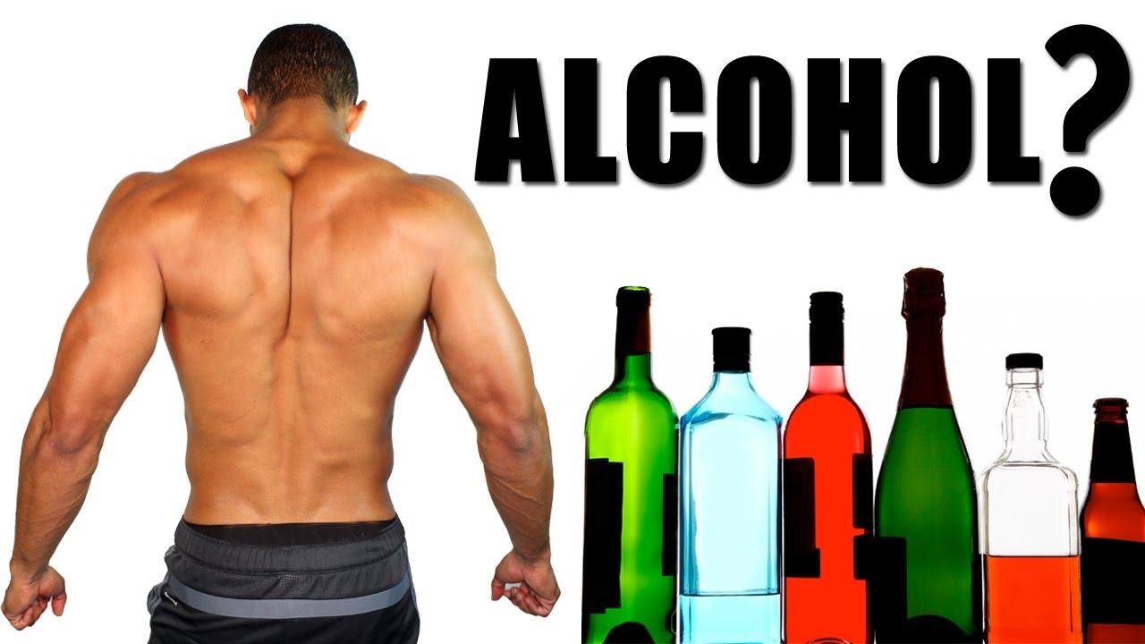 alchol and gym