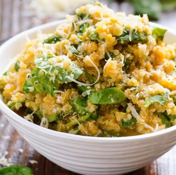 Ensalada de calabaza con quinoa