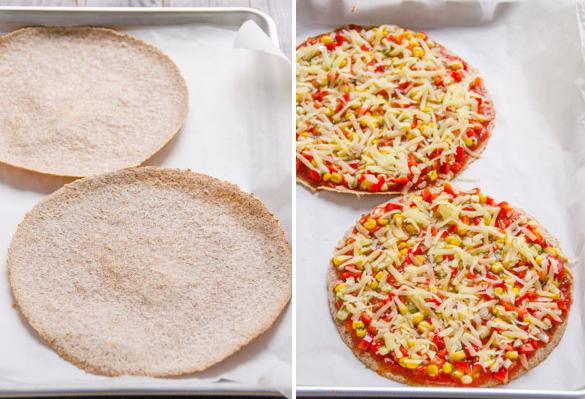 Pizza Fitness preparacion 1