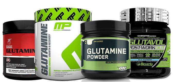 Suplementos Glutamina