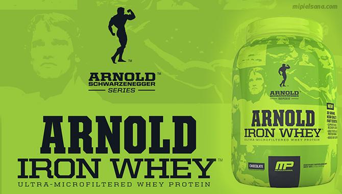 Iron Whey Arnold Proteina