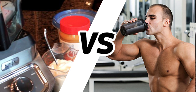 Whey Protein vs casero