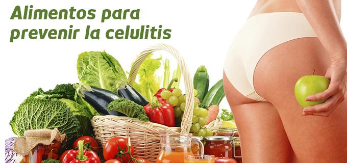 alimentos celulitis